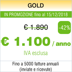 5000 fatture / Gold - 600 EUR